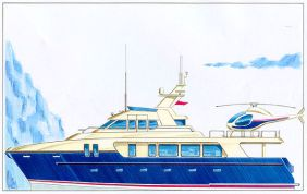 GiCat 82 Explorer Power Catamaran